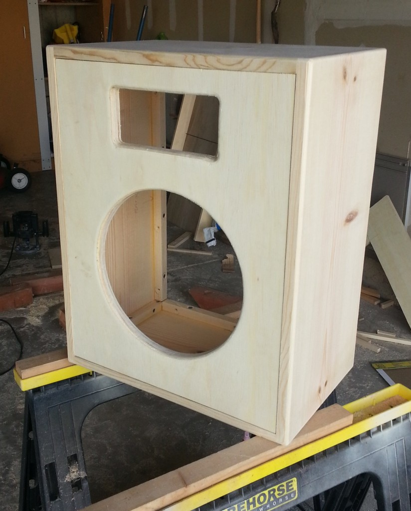 building a 1x12 guitar speaker cabinet. Black Bedroom Furniture Sets. Home Design Ideas